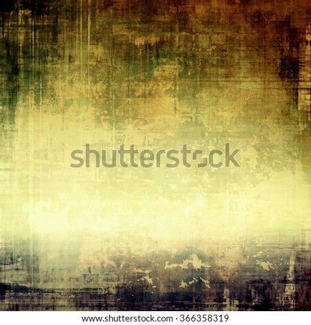 Grunge background or texture for your design. With different color patterns: yellow (beige); brown; black; green; gray - stock photo