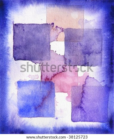 grunge background paint squares