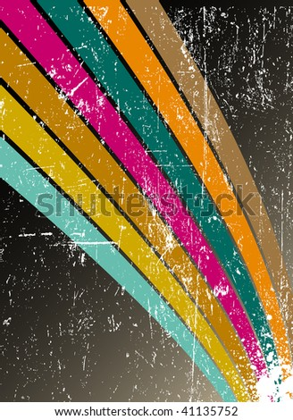 grunge background - rasterized vector