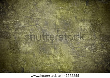 Grunge background texture in green