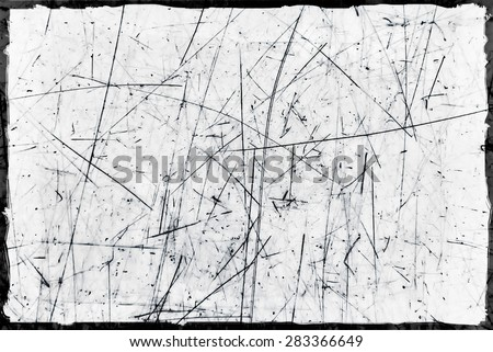 Grunge Background Texture with scratches - stock photo