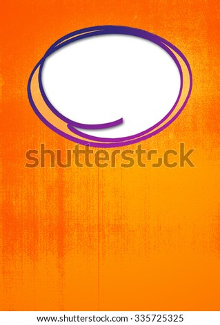 Grunge background with a blank spot for a note. - stock photo
