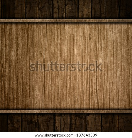 Grunge background with different wood textures