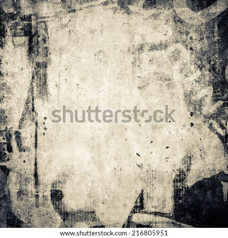 Grunge background with dirty stain - stock photo