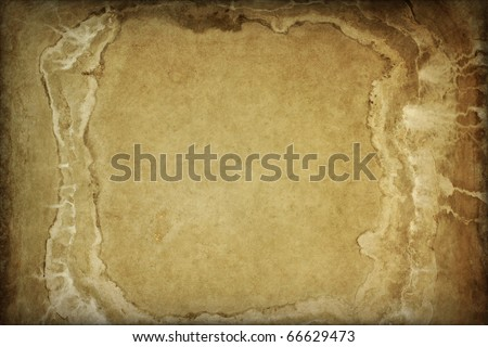 Grunge background with empty framed space