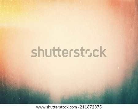Grunge background  with retro effect filter - stock photo