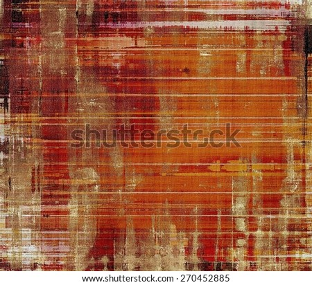 Grunge background with space for text or image. With different color patterns: yellow (beige); brown; red (orange) - stock photo