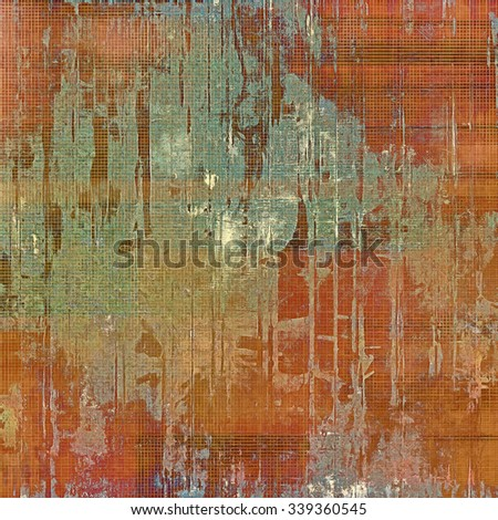 Grunge background with space for text or image. With different color patterns: yellow (beige); brown; red (orange); green - stock photo