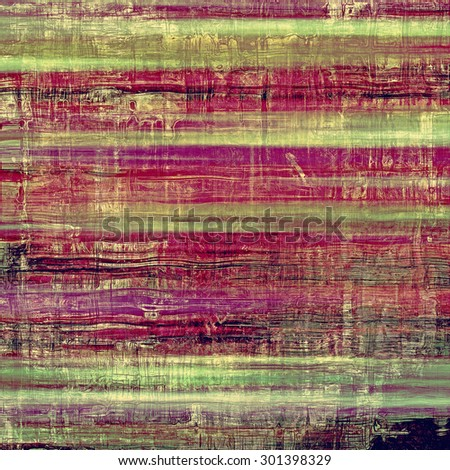 Grunge background with vintage and retro design elements. With different color patterns: brown; purple (violet); green; pink - stock photo