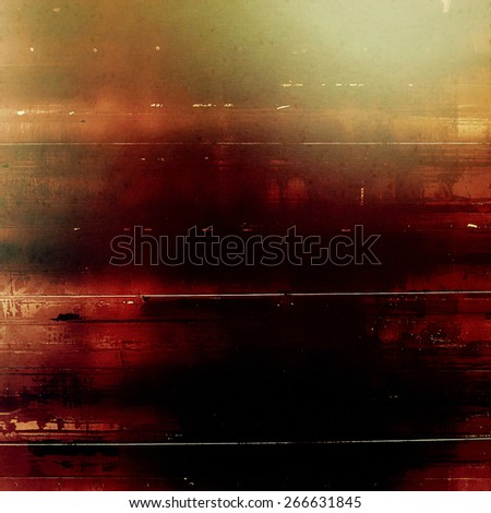 Grunge background with vintage and retro design elements. With different color patterns: brown; red (orange); black - stock photo