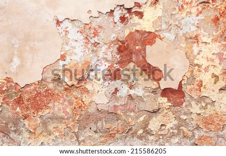 Grunge background with vintage wall - stock photo