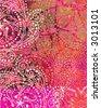 Grunge Bandanna Texture - stock photo