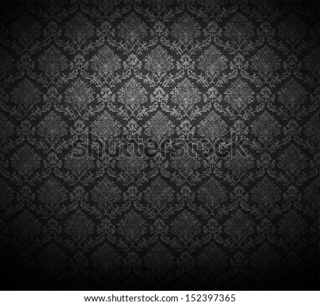 grunge baroque wallpaper for background.