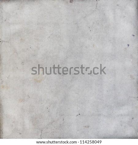 grunge beige paper texture, distressed background - stock photo