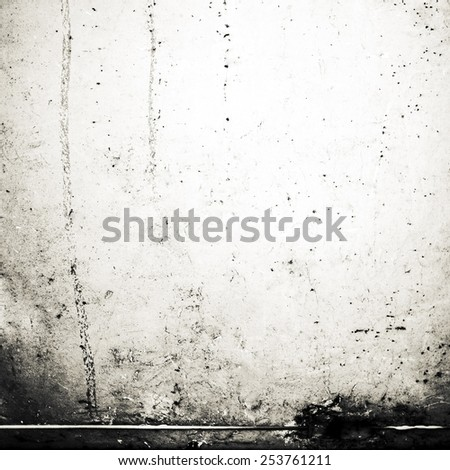 Grunge black and white background with space for text and  image for your design. Abstract Textured backdrop for wallpaper, ad, poster.