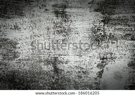 Grunge black dirty cracked wall -urban texture - stock photo