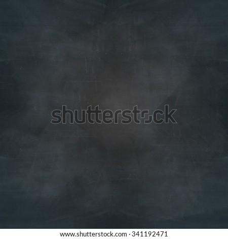 grunge blank blackboard texture background - stock photo
