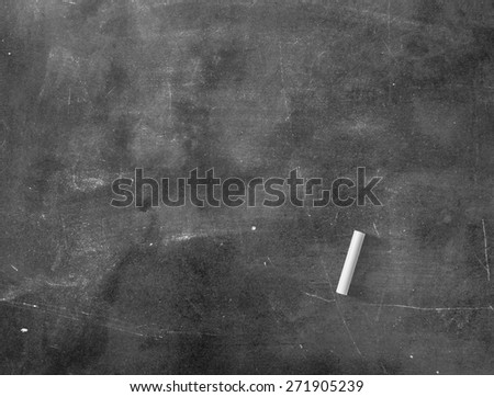 Grunge blank old wood black board or dirty slate board, white chalk. Food Menu, List, Calendar, Classroom, Drawing, Preaching, Teacher Day, Note Teaching, Brainstorm, Blackboard, Chalkboard concept - stock photo