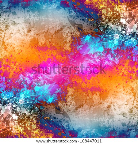 Grunge blots background - stock photo