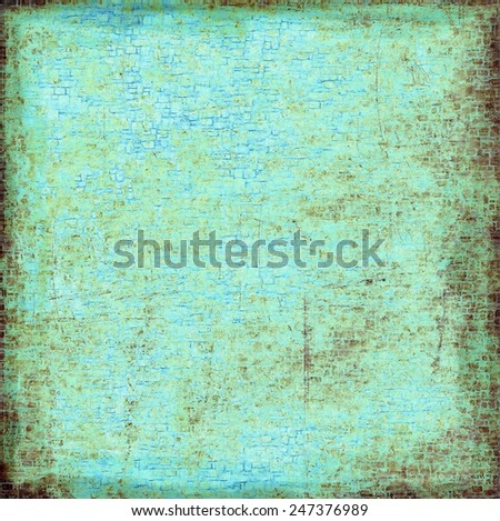 Grunge blue abstract texture background - stock photo