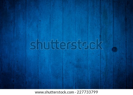 Grunge blue dirty cracked wall as an urban texture - stock photo