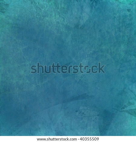 grunge blue textured painted abstract background