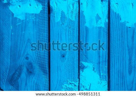 Grunge blue wooden texture suitable for background