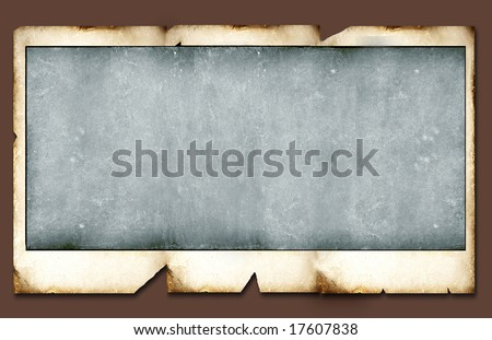 Grunge border for background - stock photo