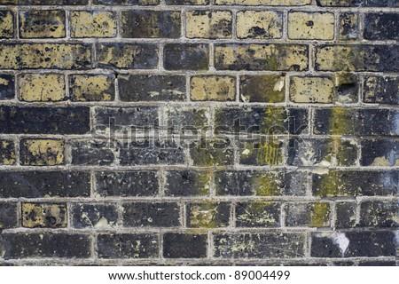 grunge brick wall texture - stock photo