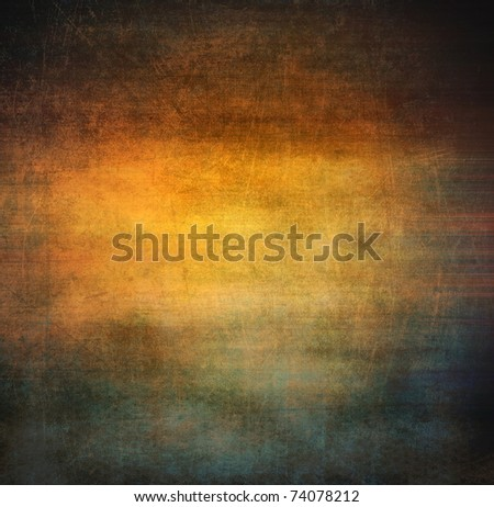 Grunge brown background - stock photo
