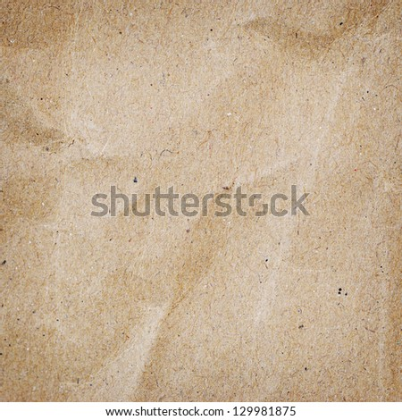 Grunge brown paper background.