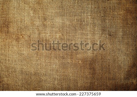 Grunge canvas with soft vignette  - stock photo