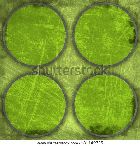 Grunge circles background