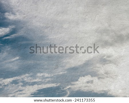 Grunge cloud background, vintage paper texture - stock photo