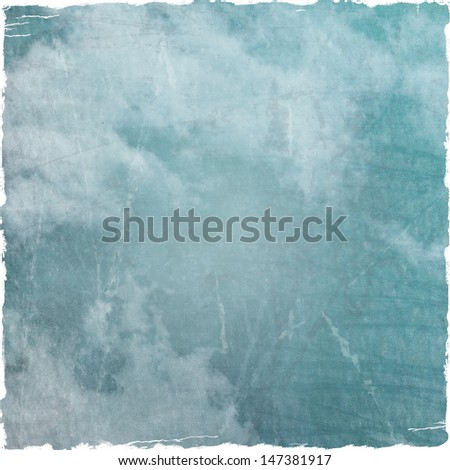 Grunge Cloudy Night Sky Halloween Background