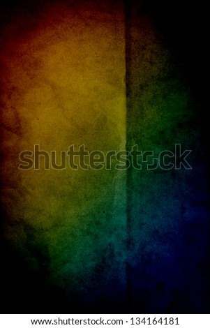 grunge color old poster template stock illustration 134164181