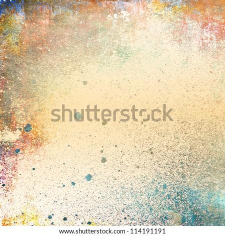 Grunge colorful background - stock photo