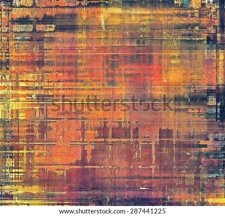 Grunge colorful background. With different color patterns: yellow (beige); brown; purple (violet); red (orange) - stock photo