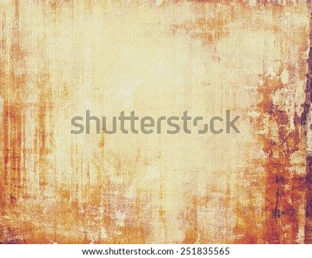Grunge colorful background. With different color patterns: yellow (beige); brown; red (orange) - stock photo
