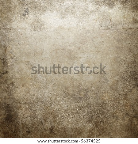 Grunge concrete wall texture - stock photo