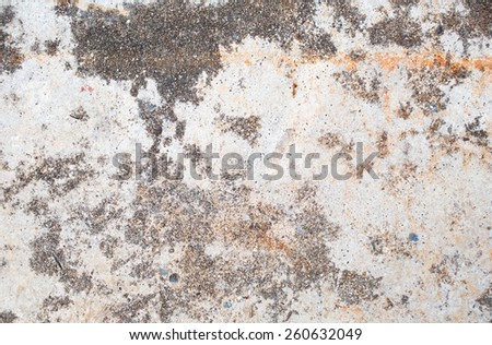 Grunge cracked concrete wall - stock photo