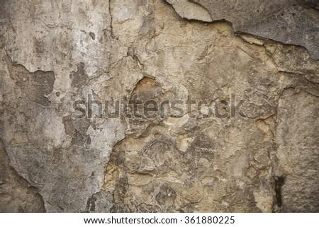 Grunge dark wall. Urban texture - stock photo