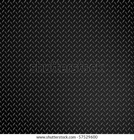 grunge diamond metal background - stock photo
