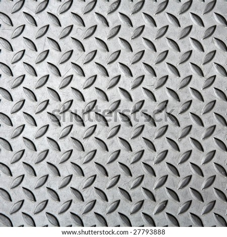 Grunge diamond steel plate background