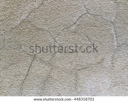 Grunge dirty gray cement crack wall texture background