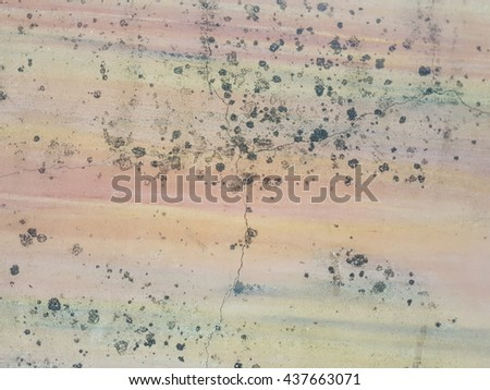 grunge dirty oil spot on concrete texture background