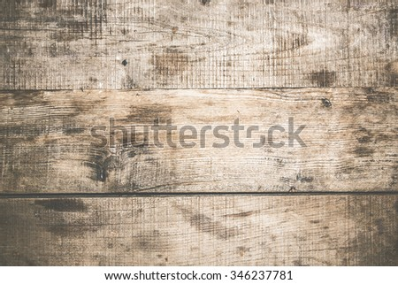 Grunge dirty old wooden surface texture.
