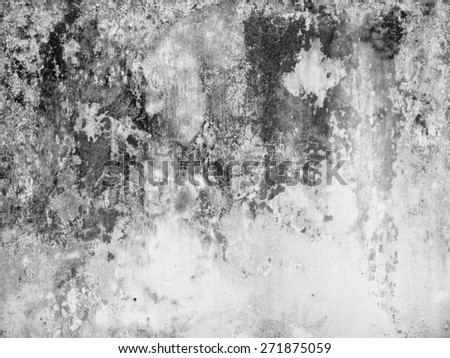 grunge dirty white wall texture - stock photo