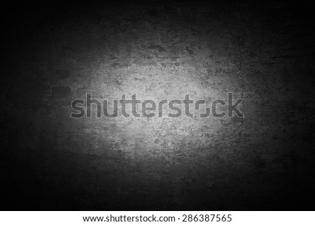 Grunge Distressed Wall Texture, Old Concrete Surface Background - stock photo