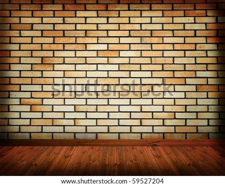 grunge empty room background - stock photo